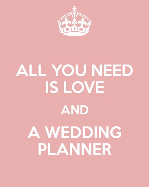 All you need is love and a wedding planner - Jody Q Weddings